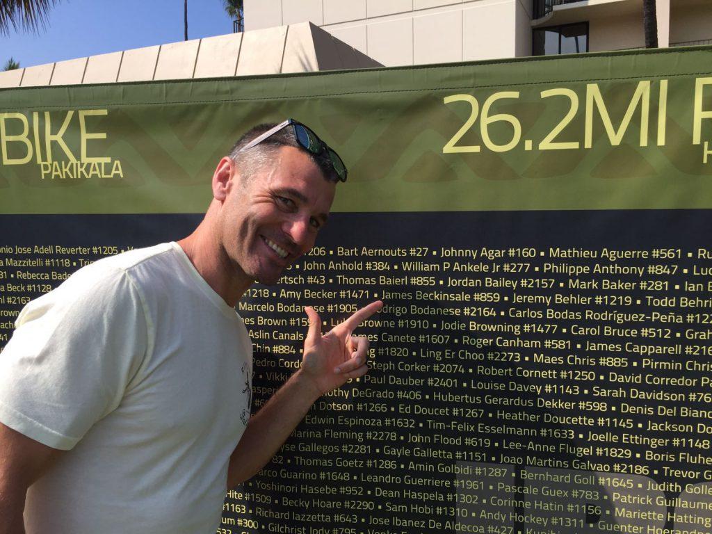 James Beckinsale, Kona 2016